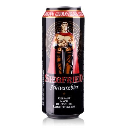 德国齐格菲黑啤酒500ml