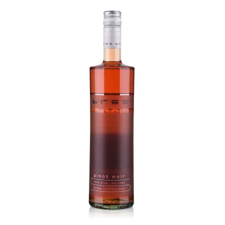 【周末大清仓】德国Bree冰灵黑皮诺半甜型桃红葡萄酒750ml