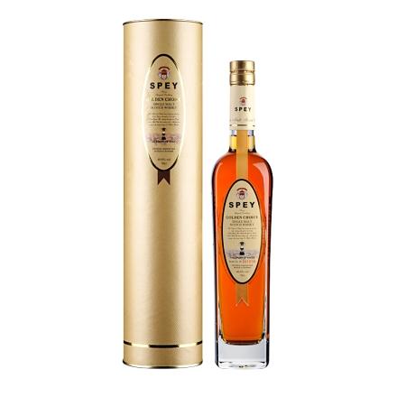 40.8°英国诗贝(SPEY)皇金精选单一纯麦苏格兰威士忌700ml简易纸筒装