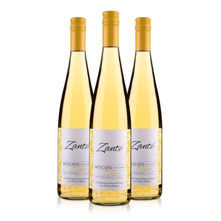 美国32领域桑特庄园麝香甜白葡萄酒750ml(3瓶装)