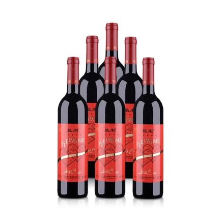 中国益利永结同心干红葡萄酒750ml(6瓶装)