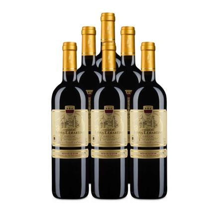 法国拉玛特雄狮堡干红葡萄酒750ml(6瓶装)