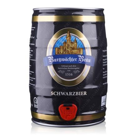 德国欢伯勃朗精酿黑啤酒5L