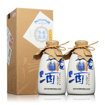 53°汾酒集团清香老酒475ml(双瓶装)