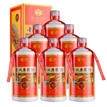 52°茅台集团贵州原浆庆典1992 500ml(红盒)(6瓶装)