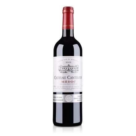 法国梅多克中级庄甘得露庄园2008干红葡萄酒750ml