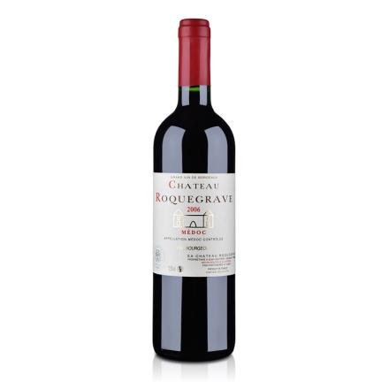 法国梅多克中级庄 洛克维古堡2006干红葡萄酒750ml