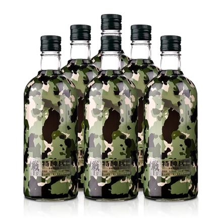 52°老战士战酒•特种兵750ml(6瓶装)