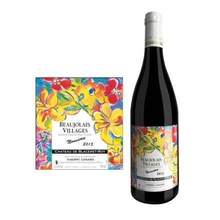 法国博若莱新酒村庄级-- 芙勒干红葡萄酒750ml