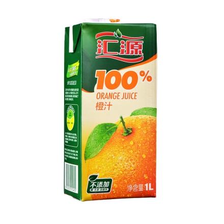 汇源橙汁1000ml(乐享)