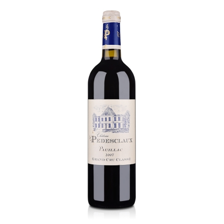 (列级庄·名庄正牌)法国百德诗歌酒庄2007干红葡萄酒750ml(又名:贝高)