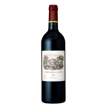 (列级庄·名庄·副牌)法国拉菲酒庄2011副牌干红葡萄酒750ml(又译:小拉菲、拉菲古堡)