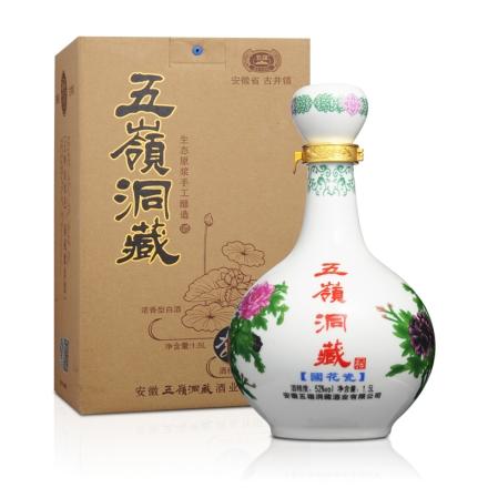 52°五岭洞藏国花瓷1500ml
