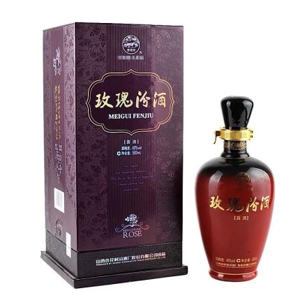40°宝石玫瑰汾酒500ml