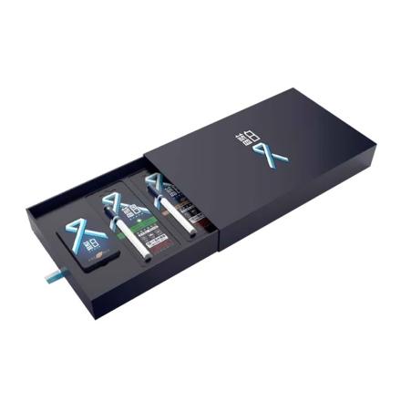 蓝白电子烟礼盒套装