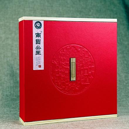 吾家有位南国公主普洱生茶红色礼盒装357g