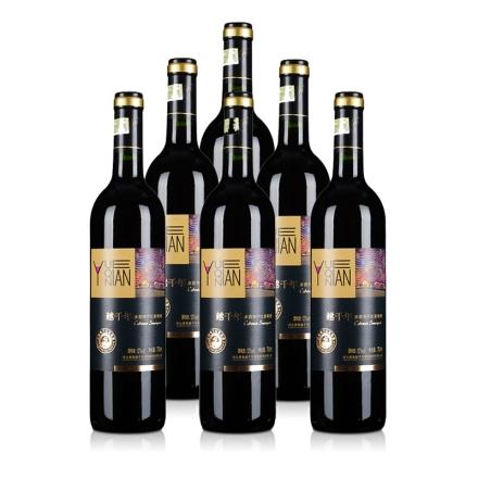 中国越千年赤霞珠干红葡萄酒750ml(6瓶装)