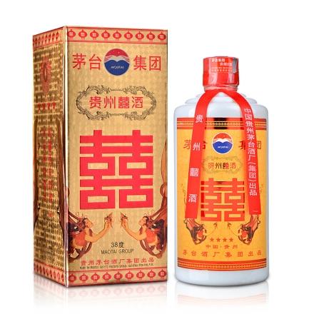 38°茅台集团贵州囍酒500ml(2003-2004年)