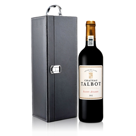 (列级庄·名庄·正牌)大宝酒庄2012干红葡萄酒750ml(单支皮盒)