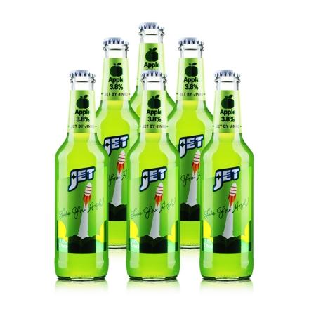 3.8°杰特朗姆预调酒苹果味275ml(6瓶装)