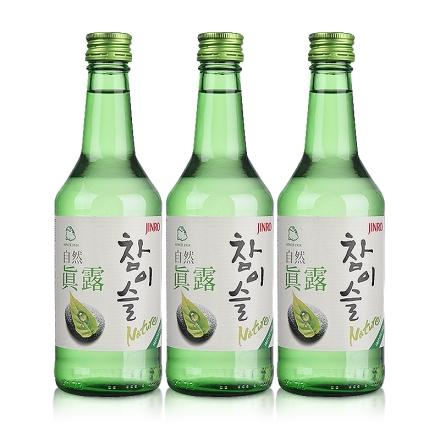 17°自然真露360ml (3瓶装)