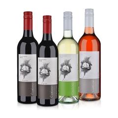 澳大利亚可吨儿西拉红葡萄酒750ml(双瓶装)+澳大利亚可吨儿干白葡萄酒750ml+澳大利亚可吨儿莫斯卡托甜型桃红葡萄酒750ml