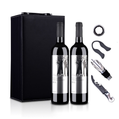 澳大利亚丁戈树赤霞珠干红葡萄酒(双支皮盒套装)750ml*2