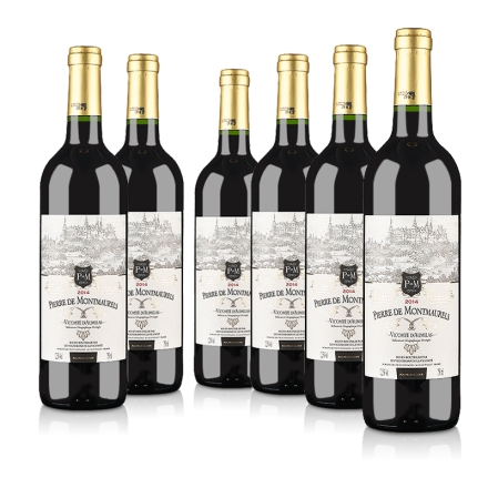 【红酒特卖】法国原瓶进口莫蕾尔干红葡萄酒750ml(6瓶装)