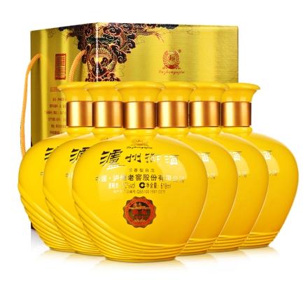 52°泸州老窖御酒韵坛618ml纪念版(6瓶装)