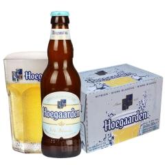比利时进口啤酒福佳小麦白啤酒330ml(24瓶装)