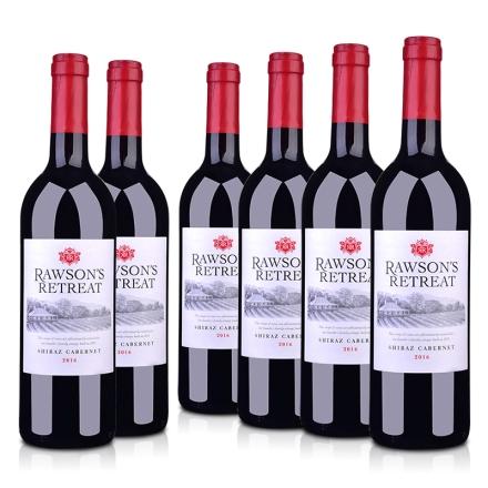 【整箱特卖】澳大利亚奔富洛神山庄设拉子赤霞珠红葡萄酒750ml(6瓶装)