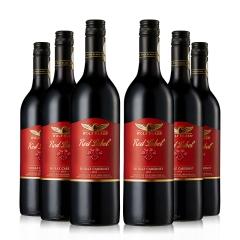 澳大利亚禾富红牌设拉子赤霞珠干红葡萄酒750ml(6瓶)