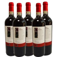法国原瓶进口卡思特罗曼干红葡萄酒750ml(6瓶装)