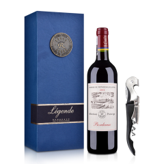 【品质红酒节】法国拉菲尚品波尔多法定产区红葡萄酒单支礼盒(ASC正品行货)+酒刀